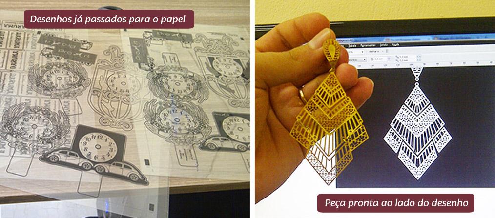 Processo técnico de fotocorrosão: fabricação de peças em latão e inox para joias folheadas
