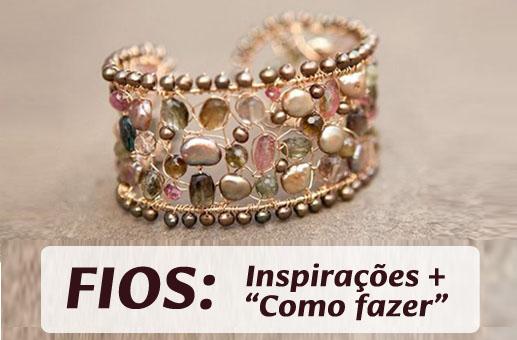 110 imagens de joias folheadas que usam fios de latão e de cobre: vem se inspirar aqui! (extra da Live 3)